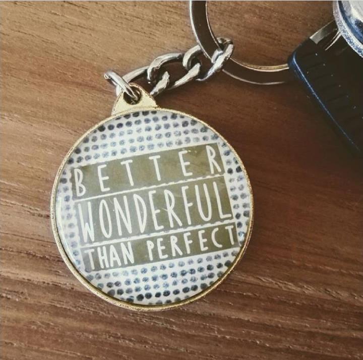 Better wonderful than perfect